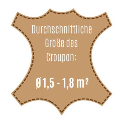 Größe des Croupon der VesuvioColors Collection