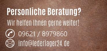 Persönliche Beratung bei LederLager24.de