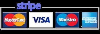 Bezahlung per Kreditkarte via Stripe bei LederLager24
