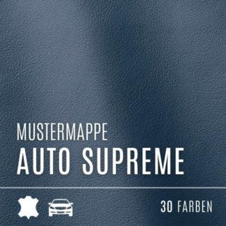 Echtleder Mustermappe - Kollektion Auto Supreme
