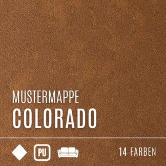 Mustermappe Kunstleder - Kollektion Colorado