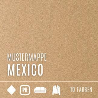 Mustermappe Kunstleder - Kollektion Mexico