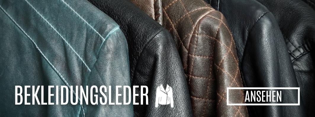 Leder kaufen - Bekleidungsleder bei LederLager24.de