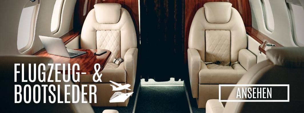 Leder kaufen - Flugzeug- & Bootsleder bei LederLager24.de