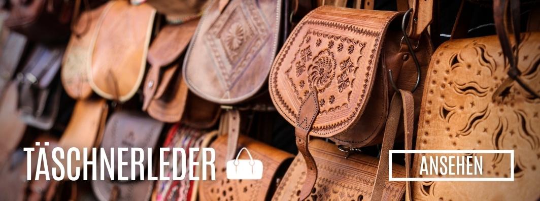 Leder kaufen - Täschnerleder bei LederLager24.de